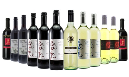 Margaret River Bliss 12Bottle Wine Case: White $65, Red $69 or Red and White Mixed $69 Don't Pay up to $249