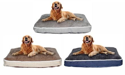 Colchón grande de 4 estaciones para perros
