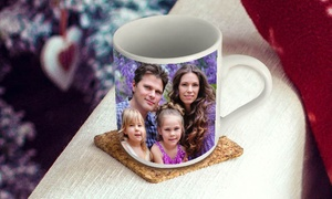 Gifttag.ae: Up to Four Personalised Mug in Choice of Design from Gifttag.ae (Up to 56% Off)
