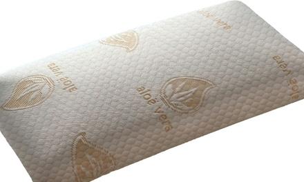 1 o 2 almohadas de copos viscoelásticos con Aloe Vera