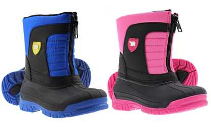 Shop Groupon Arctic Shield Kids Waterproof Snow Boots