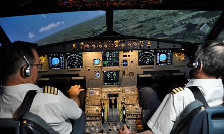Flight Simulator Experience for One or Party in the Sky for Up to Six at Deeside Flight Simulators (Up to 56% Off)