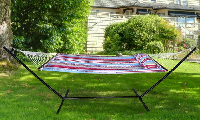 sorbus hammock pillow and spreader bar   sorbus hammock pillow and spreader     sorbus hammock pillow and spreader bar   groupon  rh   groupon