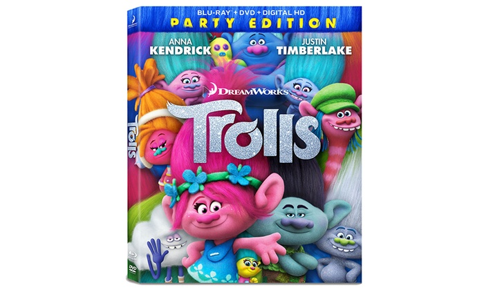 Trolls Blu-ray/DVD/Digital HD Combo