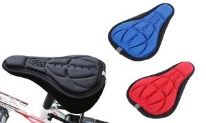 1 ou 2 housses siège de vélo en gel 3D de silicone et lycra