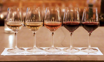 Two Standby Wine Flights with Optional Food at The Pursuit Wine Bar (Up to 42% Off)