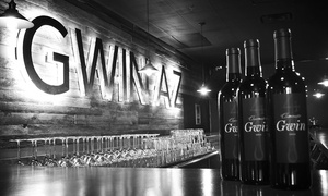 Gwin Wine + Beer: Beer, Wine, and Appetizers at Gwin Wine + Beer (Up to 40% Off). Two Options Available.