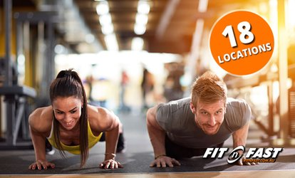 Three-Week Gym Access for One ($12) or Two People ($20) at Fit n Fast Gyms, 18 Locations (Up to $224 Value)