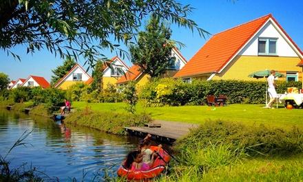 NoordHolland: weekend/midweek voor 46 pers op Villapark IJsselhof, naar keuze met privésauna incl. schoonmaakkosten