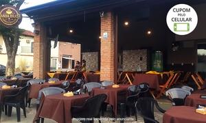 Manda Brasa Carnes e Cervejas: Manda Brasa Carnes e Cervejas – Jardim América:Cupim Grill ou Maminha Black + acompanhamentos para 2 ou 4 pessoas