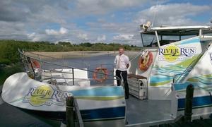 River Run Pleasure Cruiser: Shannon River Cruise for Two or a Family with River Run Pleasure Cruiser (Up to 43% Off)