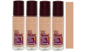 4x Maybelline Age Rewind Foundations