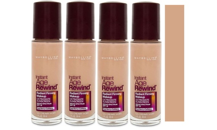 Maybelline Instant Age Rewind Foundation 30mL #120 Creamy Ivory: Four $12 or Eight $19 Don't Pay up to $205.80