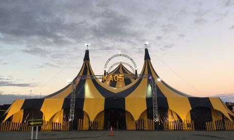 Entrada al espectáculo de Cirkus Kaos del 15 al 25 de febrero desde 6 € en Azuqueca de Henares
