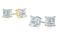 GROUPON: 1.00 or 1.50 CTW Certified Diamond Stud Earrings 1.5 CTTW Certified Diamond Stud Earrings