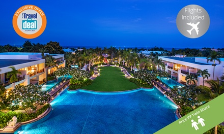 Thailand, Hua Hin: $1,299 PP for a 5N Stay with Flights, Breakfast + 2 Dinners at 5Star Sheraton Hua Hin Resort & Spa