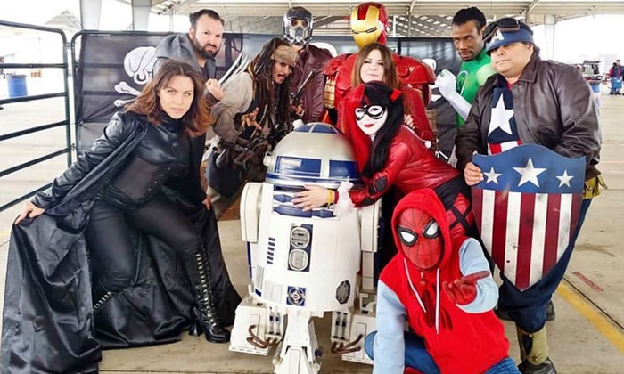 Hill Country Comicon in - New Braunfels, TX | Groupon