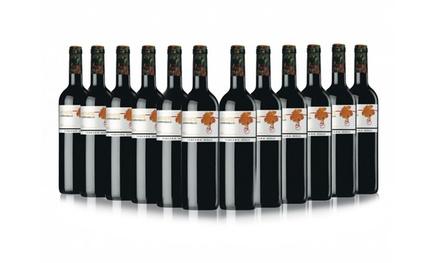 12 Bottles of Awarded Oaked Rioja Red Wine Mitarte Madurado Tercera Hoja