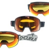 D CURVE Removable Foam Snow Goggles
