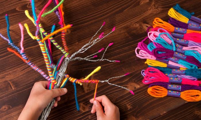 Craft Tastic Yarn Tree Kit: Craft Tastic Yarn Tree Kit ...
