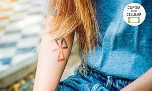 Terral Tattoo: Crédito para tatuagem de até 6 cm x 6 cm, 10 cm x 10 cm ou 15 cm x 15 cm na Terral Tattoo – Centro