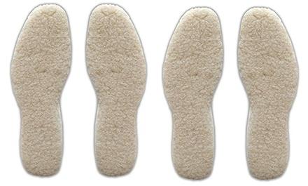 2 o 4 solette termiche riscalda piedi