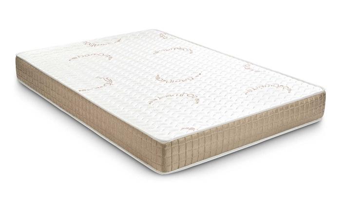 jusqu 39 88 matelas visco en bambou groupon. Black Bedroom Furniture Sets. Home Design Ideas