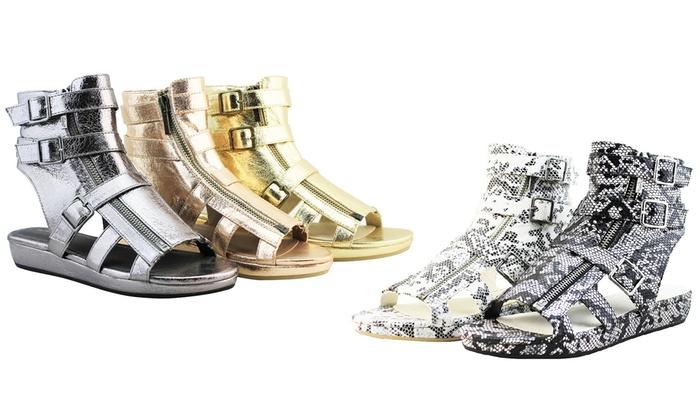 Darla Women's Flat Platform Sandals