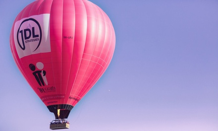 Hot Air Balloon Ride: 1 $199 or 2 Ppl + Photo Package $398 + Breakfast $469 from Go Ballooning Up to $718 Value