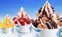 5er-oder 10-er Karte Frozen Quark mit 3 Toppings und Fruchtpüree oder heißer Schokolade in der Quarkerei (35% sparen*)