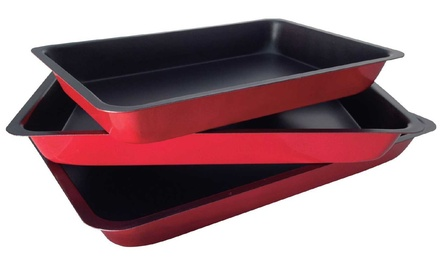 ASAB ThreePiece Baking and Roasting Tray Set