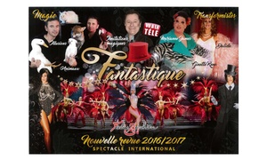 """Les Folies Berchère: Soirée spectacle """"Nouvelle Revue Fantastique"""" et menu Gold pour 2 personnes à 89 € au Folies Berchère"""
