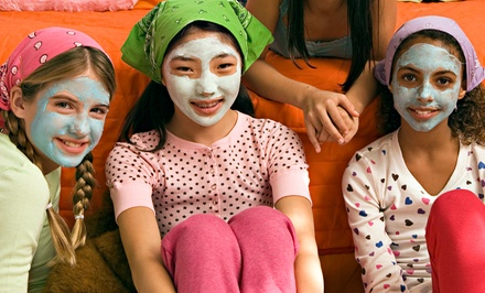 Kids' Mani-Pedi with Optional Facial for One or Two at My Chic Party Boutique (Up to 53% Off)