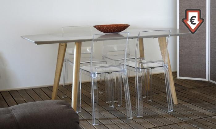 Set sgabelli o sedie alaska groupon