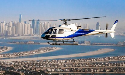 Up to 40-Minute Helicopter Tour for One or Up to Five from Heli Dubai