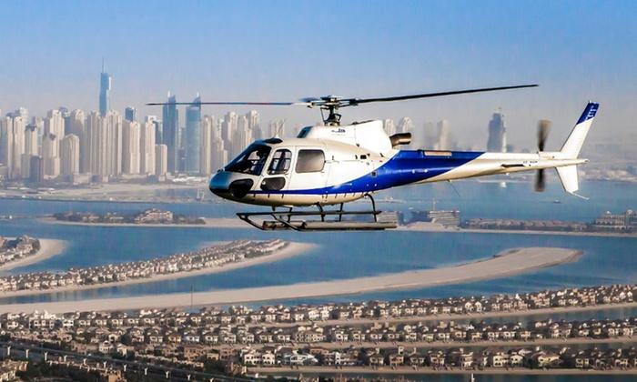 Hasil gambar untuk helicopter dubai tour