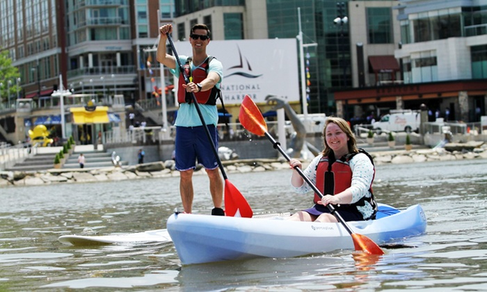Boating in DC - Fort Washington: Kayaking or Standup Paddleboarding from Boating in DC (Up to 50% Off). Three Options Available.