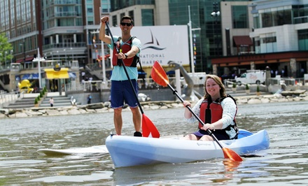 Kayaking or Standup Paddleboarding from Boating in DC (Up to 50% Off). Three Options Available.