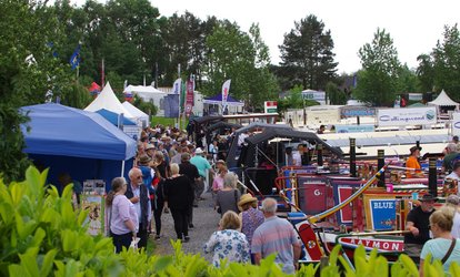 image for Crick Boat Show, 28 May at Crick Marina (Up to 50% Off)