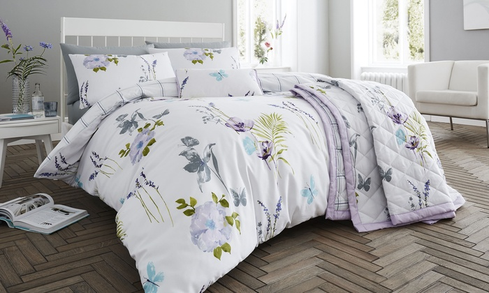 200TC Flora Soft Touch Bedding from £8