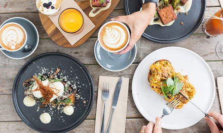 AllDay Breakfast or Lunch + Small Coffee for Two $32 or Four People $64 at Holla Melbourne Up to $104 Value