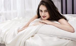 Luxury Italian Silk-Filled Duvet with Egyptian-Cotton Shell