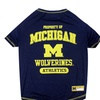 Officially Licensed NCAA Pet T-Shirts