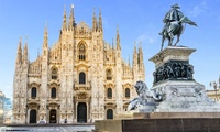✈ Milan: 2 or 3 Nights in Standard Double or Twin Room with Flights plus Optional Tour*