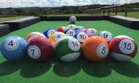 One-Hour Foot Pool Game for Two or Four at Zorb Strike (Up to 60% Off)