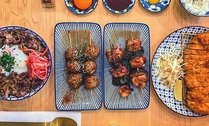 Two-Course Japanese Meal with a Drink for Up to Six at Machiya (Up to 63% Off)
