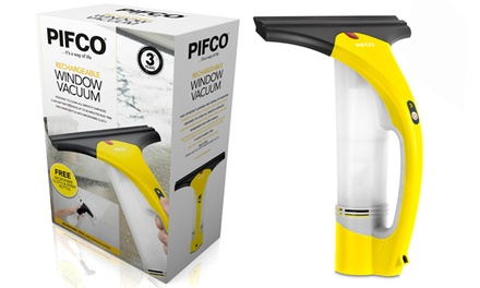 Pifco P29013 Rechargeable Window Vacuum