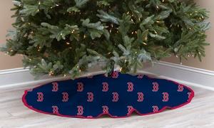 MLB-Themed Christmas Tree Skirt