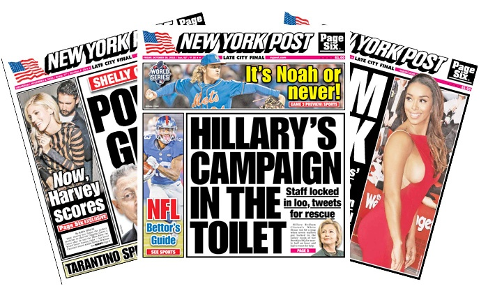 """New York Post - New York City: 13- or 26-Week Daily Print Subscription to the """"New York Post"""" (Up to 42% Off)"""