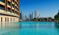 Private Cabana and Pool Access with Refreshments for up to Four at Cabana at The Address, Dubai Mall (Up to 58% Off)